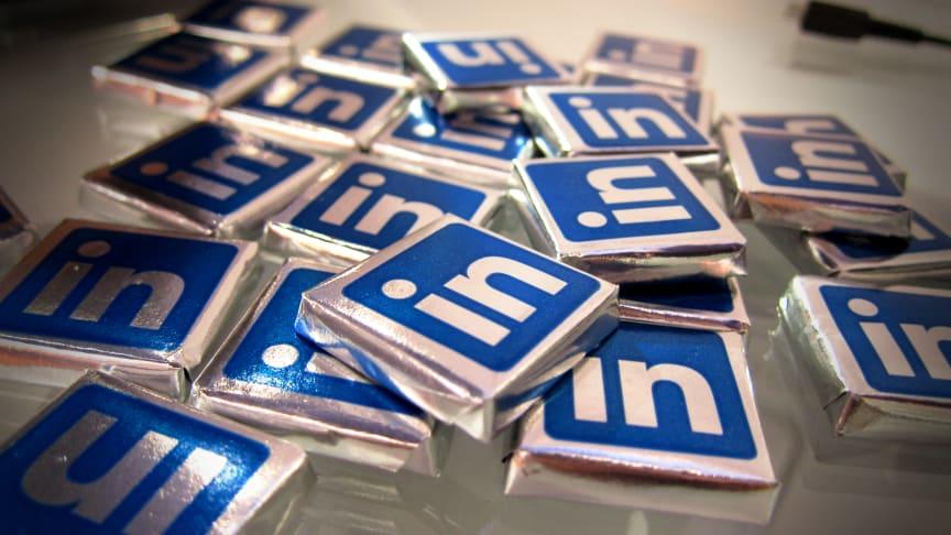 Dela företagets nyheter på LinkedIn med Mynewsdesk