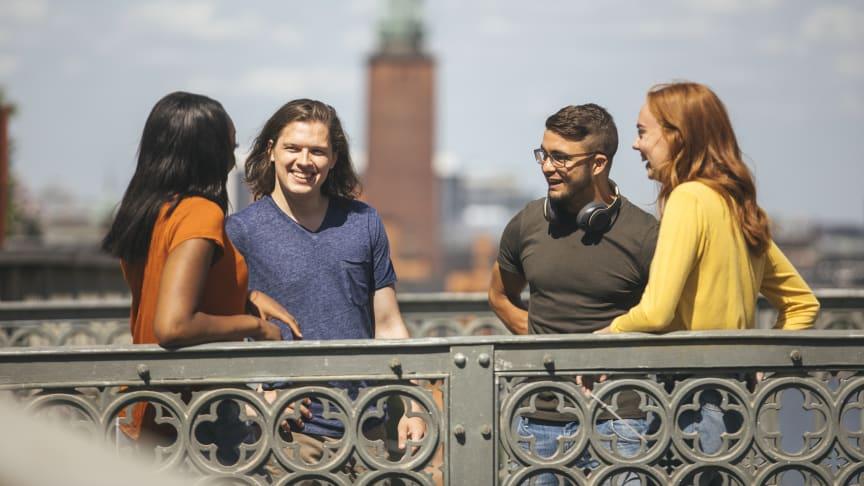 Ett Erasmusutbyte förändrar deltagarnas syn på sig själva. Programmet har också skapat en ny ungdomskultur. Foto: Niklas Björling/Stockholms universitet.