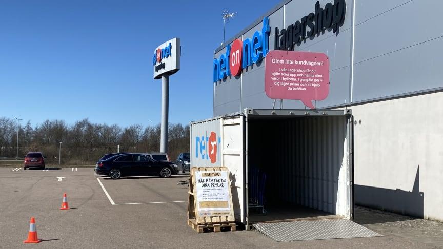 NetOnNet Drive Thru, Helsingborg