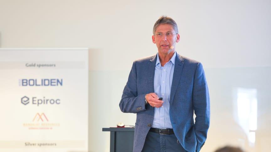 Jan Moström, CEO of the Swedish mining company LKAB