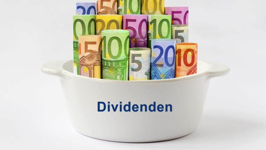 Optionsrecht bei Gewinnausschüttungen und Dividenden wurde eingeschränkt
