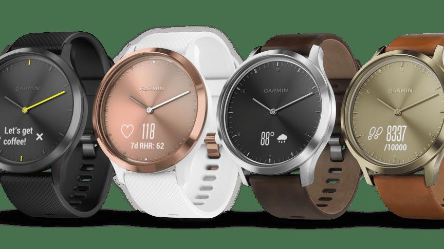 Garmin vívomove™ HR Hybrid-smartwatch