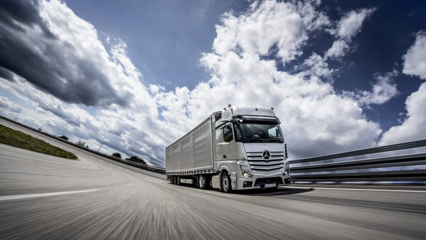Mercedes-Benz Actros er 'Truck of the Year 2020'