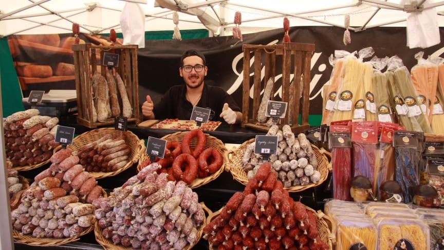 Inbjudan pressmöte: Öppning av International Food Festival i Lidköping