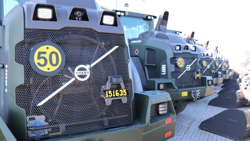 Volvo hjullastare L60H - bak FMV