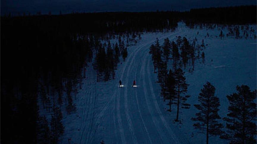 Nattvasan - världens första nattlopp på skidor