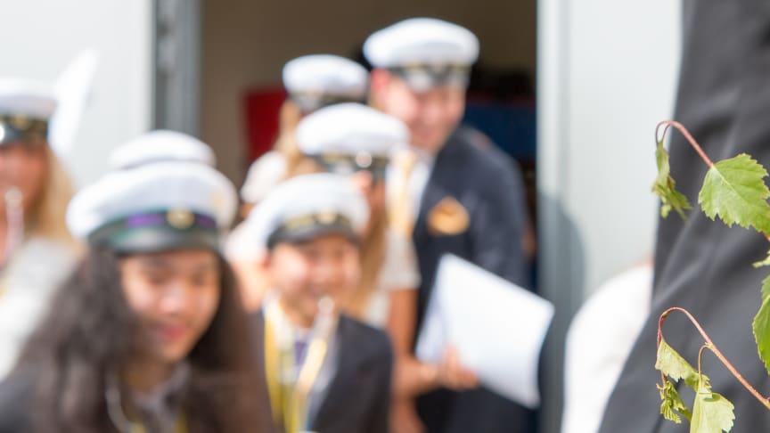 Studenten blir av på Ängelholms gymnasieskola