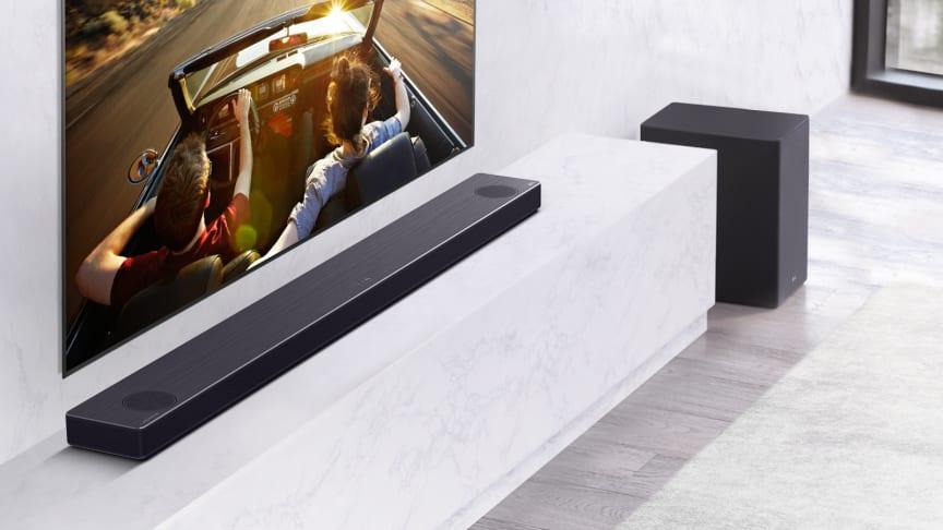 LG:n uudet soundbar-kaiuttimet tarjoavat huippuluokan kuunteluelämyksen
