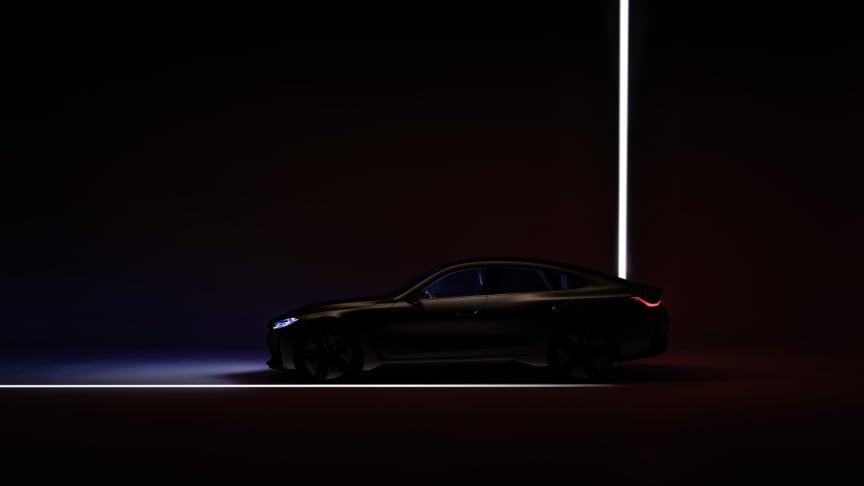 Virtuel verdenspremiere på BMW Concept i4
