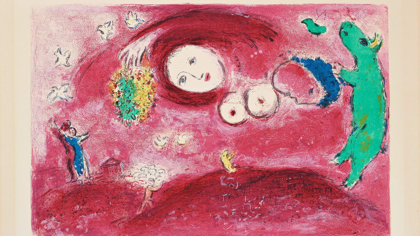 Marc Chagall, Springtime in the meadow