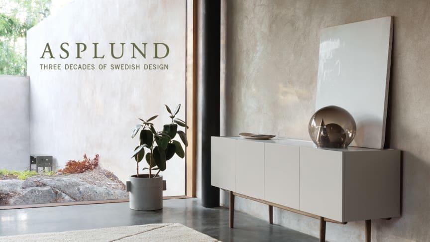 ASPLUND – Tre decennier av svensk design