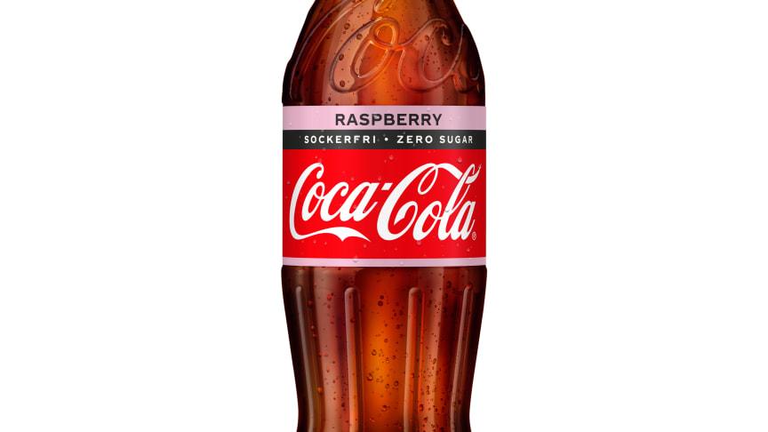 Nu lanseras Coca-Cola Zero Sugar med hallonsmak i Sverige