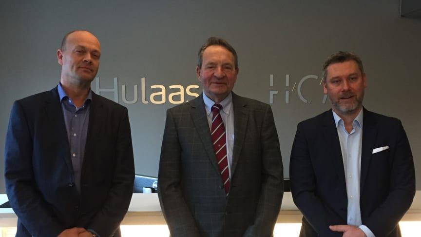 Fra venstre: Terje Wiljelmsen CMO, Ove Nedregotten Dgl.leder, Petter Mellquist CEO