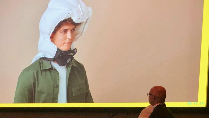Hövdings airbag för cyklister lyfts på stor kongress om ortopedi och traumakirurgi där VD Fredrik Carling var inbjuden