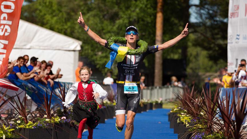 Vansbro Triathlon blir Challenge Vansbro 2021. Foto: Mickan Palmqvist