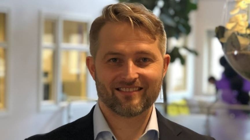 Lars Setsaa, ny leder for OneCall og MyCall. Foto: Telia Norge.