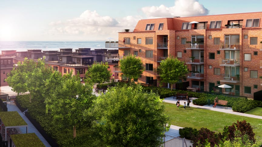 Pressinbjudan: Byggstart för Riksbyggens Brf Aqua på Limhamns Ön, Malmö