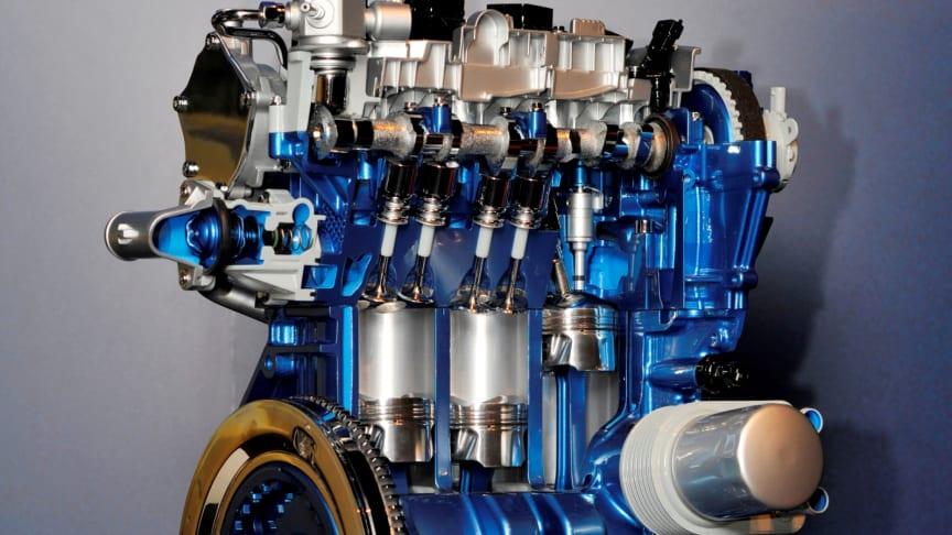 FORD ECOBOOST 1,0 L. MOTOR