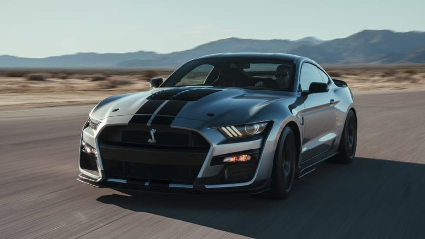 Most Powerful Street-Legal Ford in History: All-New Shelby GT500 is the Most Advanced Mustang Ever for Street, Track or Drag Strip