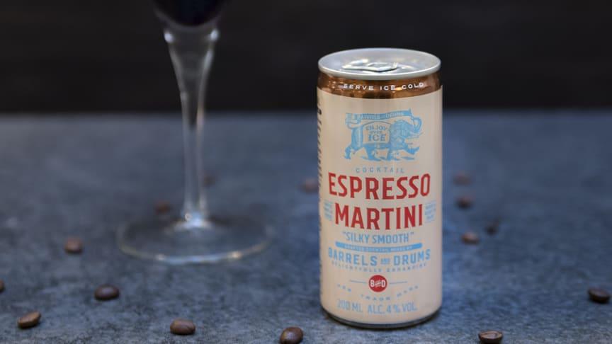 Barrels and Drums Espresso Martini