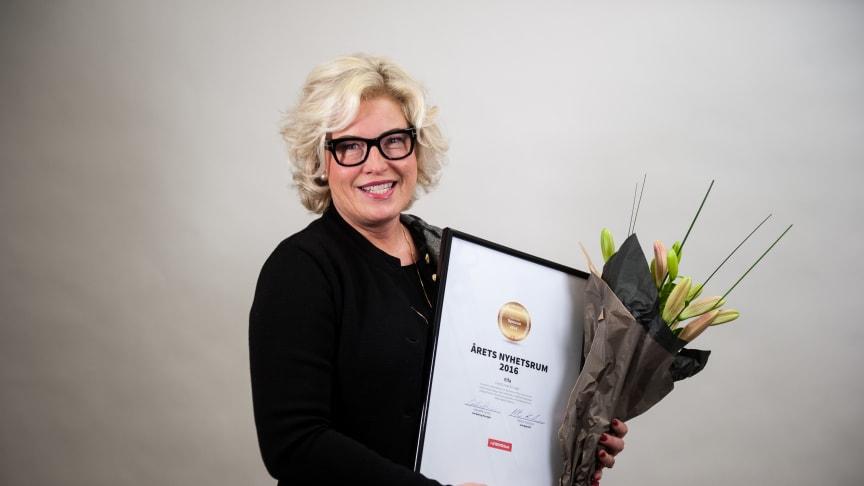 Vinnare Årets Nyhetsrum 2016