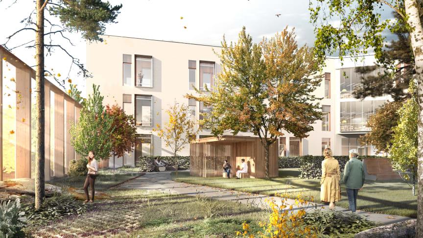 Helande arkitektur i fokus när psykiatrin på Södra Älvsborgs sjukhus omvandlas