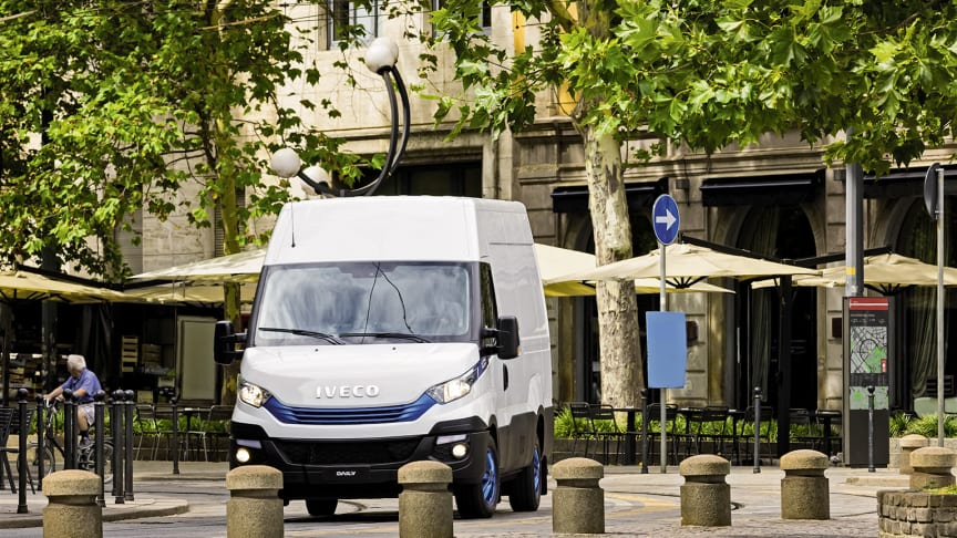 IVECO Daily Blue Power - International Van of the Year 2018.