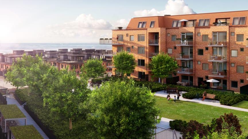Riksbyggens Brf Aqua, Malmö