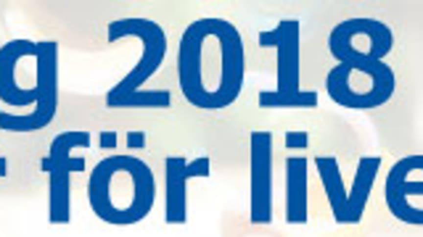 Vi fortsätter att stötta Barncancerfonden under 2018!