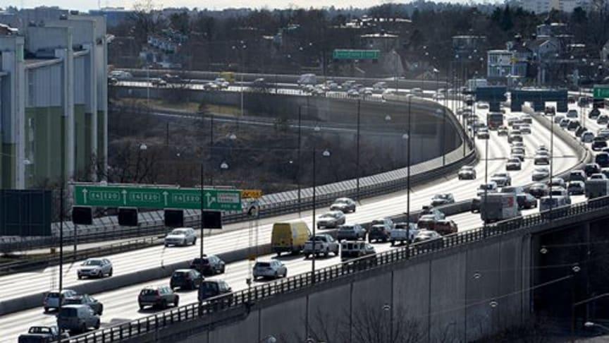 Nya siffror visar att vägtrafiken växer