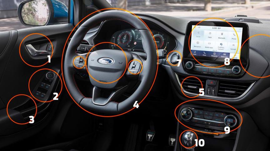 A Ford megmutatja, mit tisztítsunk meg, ha beülünk az autónkba