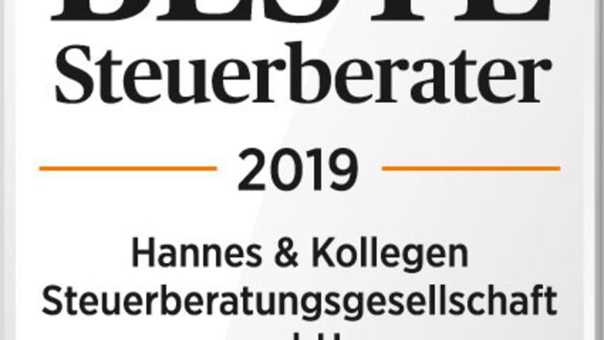 """""""Upps, we did it again"""": Beste Steuerberater 2019"""