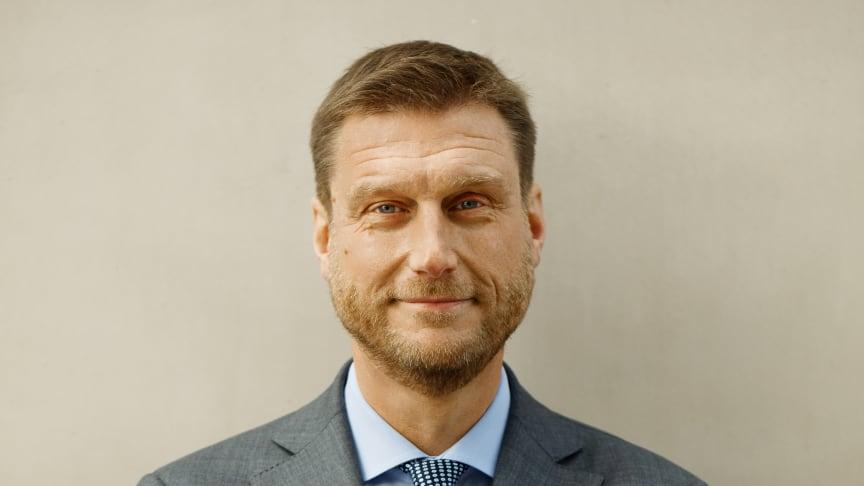 Koncernchef Stefan Ränk
