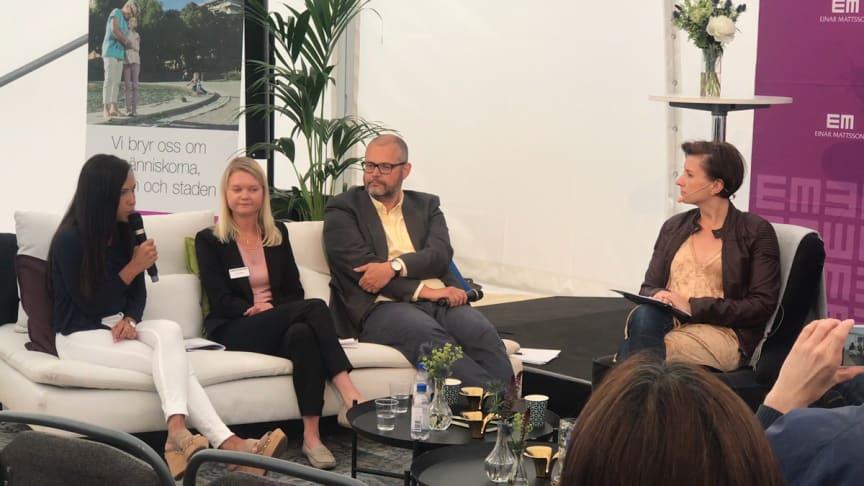 Panelsamtal under Järvaveckan om fastighetsbranschens rekryteringsbehov