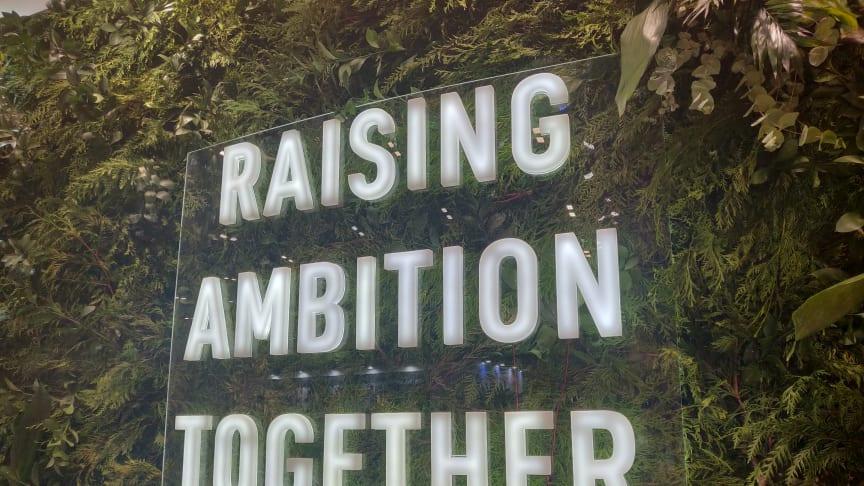 Manglende ambitioner overskyggede COP25, trods slogans på alle vægge.