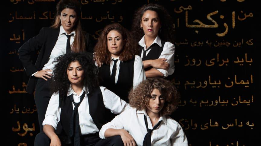 Upprorets poet är ett nyskrivet drama om den iranska poeten Forough Farrokhzad. Pjäsen spelas på Vara Konserthus den 7 februari.