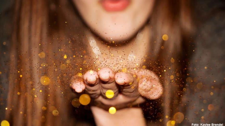 Glitter och glamour på Lyxtorsdag