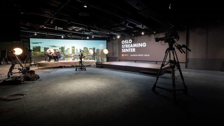 STREAME KONFERANSE: Clarion Hotel Oslo tilbyr nå mulighet for å streame konferanser og møter.