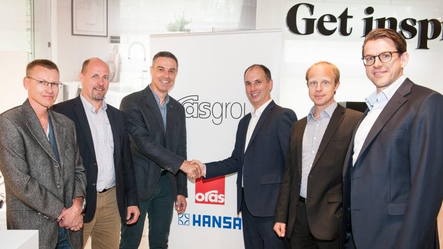 Oras Group investerer i digitalisering med køb af schweiziske Amphiro