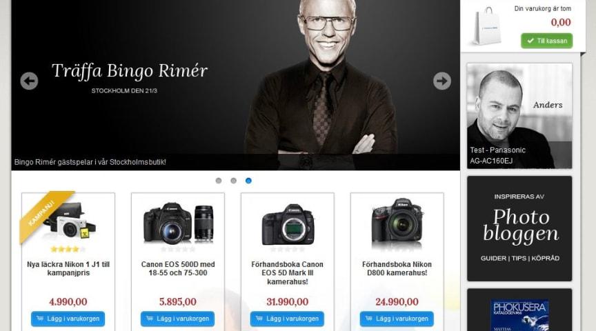 Scandinavian Photo släpper ny webbutik