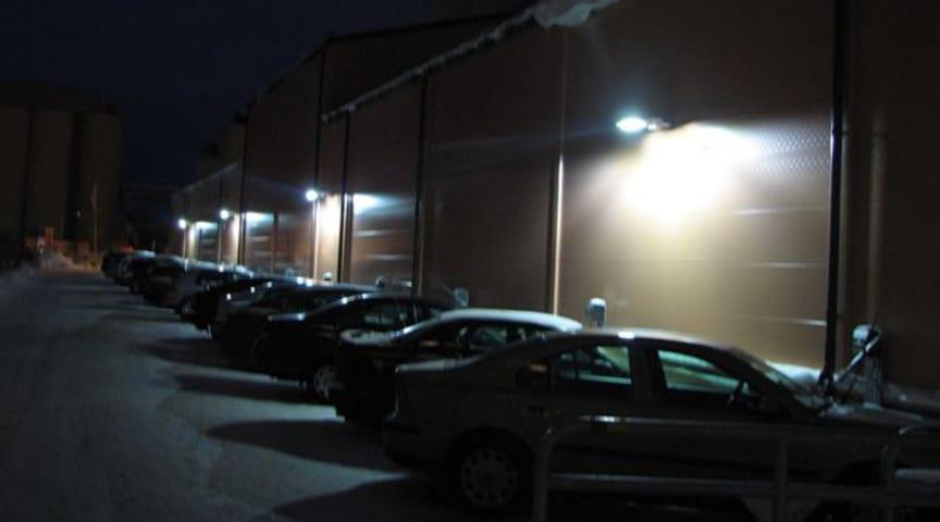 Lantmännen Cerealia i Uppsala installerar miljövänlig LED-belysning