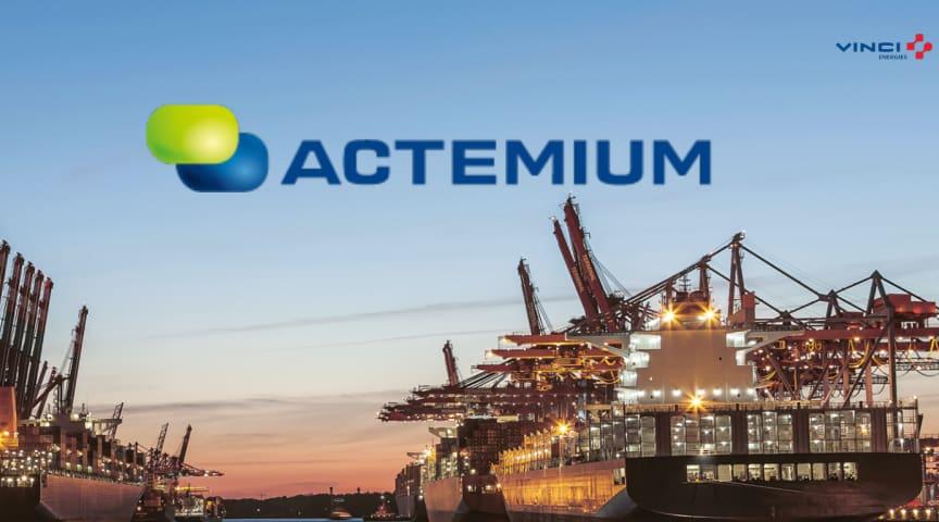 Actemium Electro minskar utsläppen i svenska hamnar