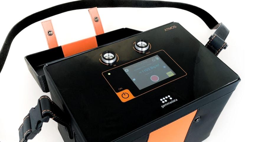 Världens känsligaste radonsniffer ATMOS blir nu en del av Radonovas omfattande program för radonmätning.