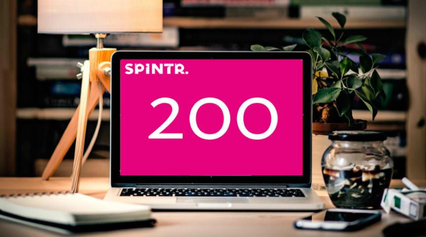 Tvåhundra intranät startade med Spintr