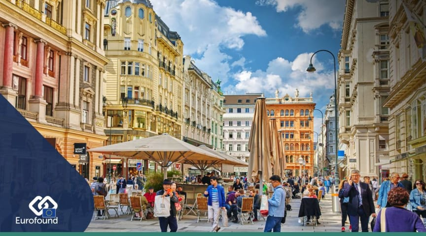 This weekend marks the Austrian national day. What's the working life situation in the country?