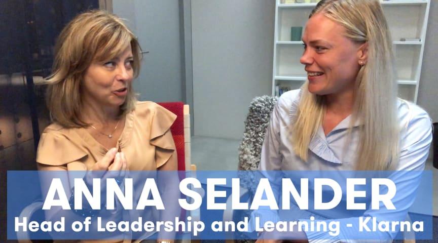 Jobylon träffar Anna Selander, Head of Learning and Leadership på Klarna för att prata organisationsstruktur
