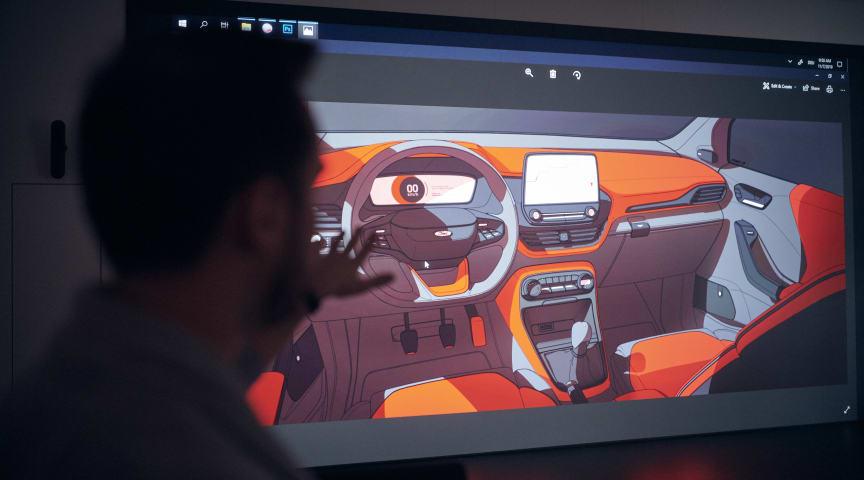 360° sketching og 3D-vævning: Kom med bag Fords innovative designfilosofi