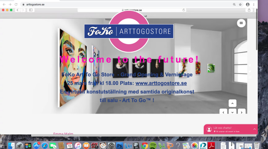 Welcome to the Future - en art show i tiden!