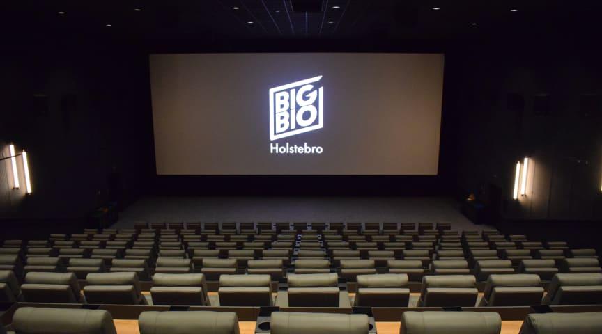 Billetsalget til Vestjyllands nye luksusbiograf BIG BIO Holstebro åbner med James Bond!