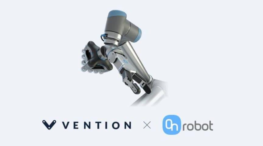 OnRobot og canadiske Vention indgår samarbejde